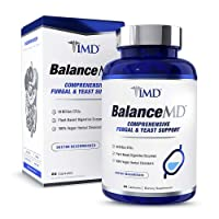 1MD BalanceMD - Candida Fungal & Yeast Support | 18 Billion CFUs Probiotics, Digestive...