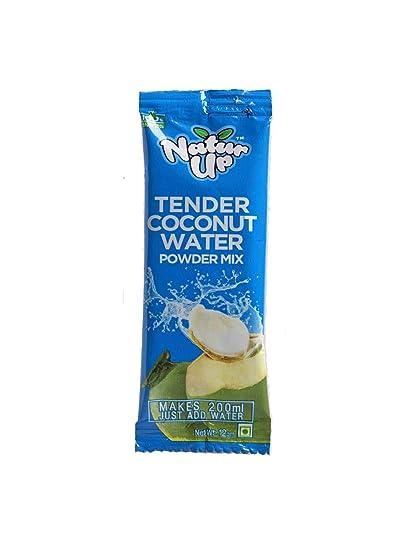 NaturUp Tender Coconut Water Powder Mix, 12 grams (Pack of 50)