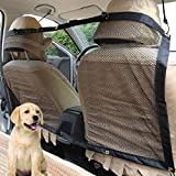 Big Ant Universal Car Pet Net Barrier Backseat Mesh for Vehicle,Keep Pets Off the Front Seat (Large)