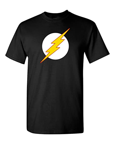 887048901 The Flash T-Shirt Sheldon Cooper DC Comic t shirt marvel t shirt (2X