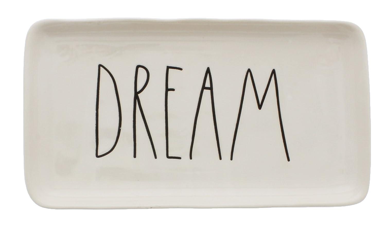 Rae Dunn by Magenta Ceramic DREAM LL Tray