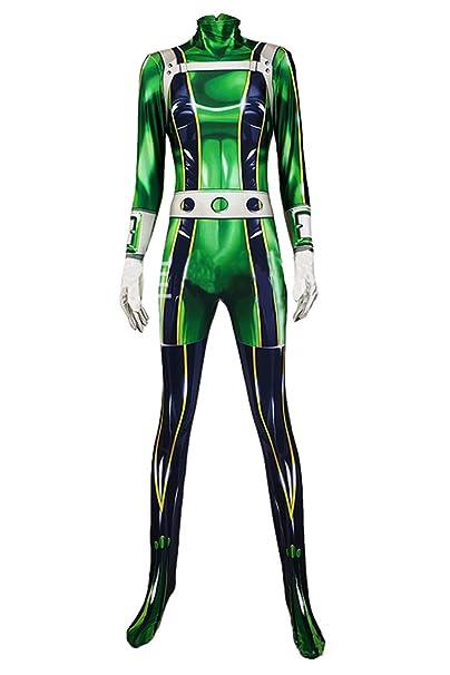 Noveltyboy Bnha Boku No Hero My Hero Academia Tsuyu Asui Costume Bodysuit Tights