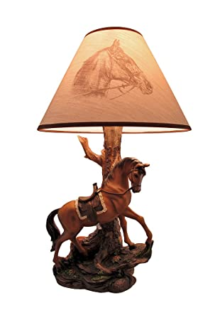 Light fantastik saddled horse table lamp with printed fabric light fantastik saddled horse table lamp with printed fabric shade aloadofball Image collections
