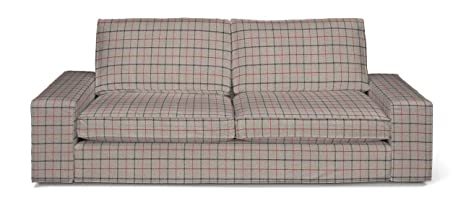 Dekoria Kivik de 3 plazas sofá husse apto para Ikea Modelo ...