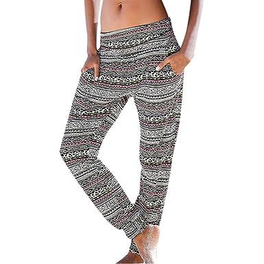 Darringls Pantalones Yoga Mujer, Pantalones con Cordones de ...