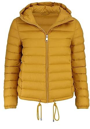 online store d6562 f9d8d BOSS Casual Damen Daunenjacke Ofave Gelb 36: Amazon.de ...