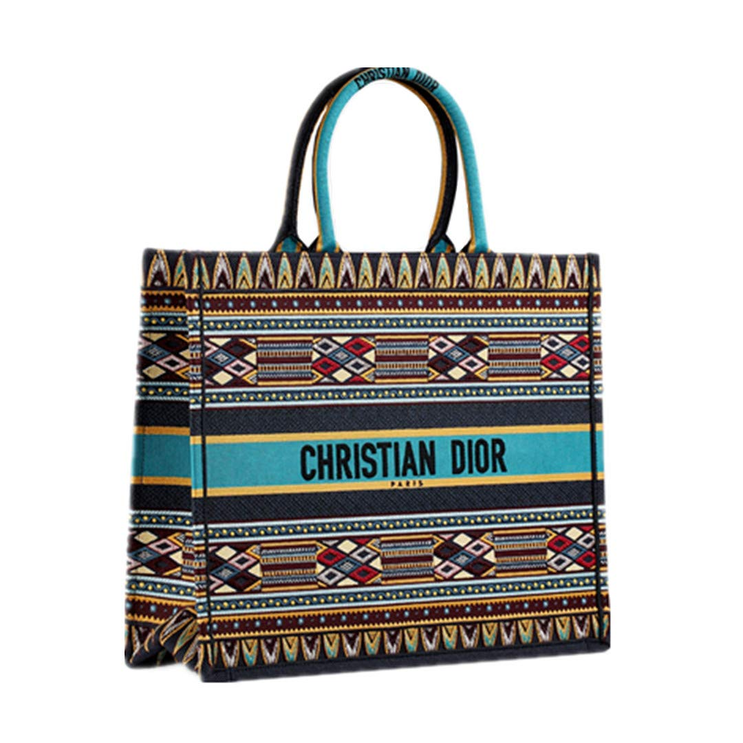 1a9d329c6 Amazon.com: Women's Shopping Bags DIOR Book Tote Bag In Canvas Embroidered  Oblique Bag (2): Shoes