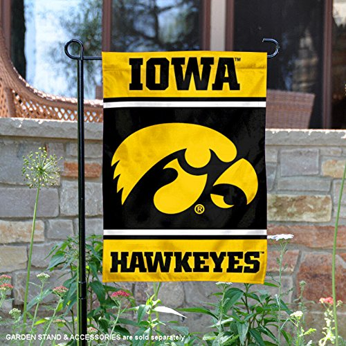 College Flags and Banners Co. Iowa Hawkeyes Garden Flag
