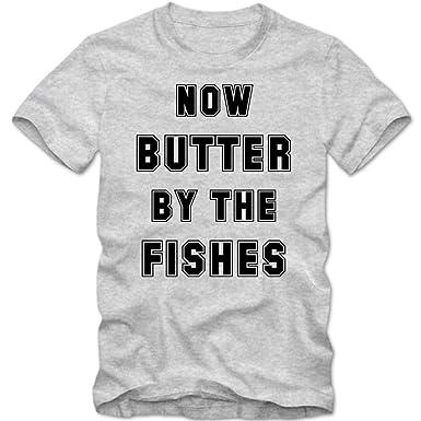 Shirt Happenz Now Butter by The Fishes | Spruchshirt | Denglisch | Funshirt  | Spaß | Herrenshirt: Amazon.de: Bekleidung