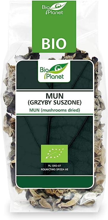 Mun (champiñones secos) BIO 50 g - BIO PLANET: Amazon.es ...