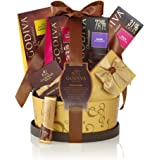 Godiva Chocolatier Signature Chocolaete Basket with Classic Ribbon, 7 Chocolate Gifts