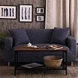 Knitted sofa sets Total package sofa cover Universal simple cushion-C 75-91in