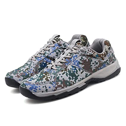 ff0be5c310ab4 Amazon.com: Hiking Shoes Women Men Water Resistant Camouflage ...