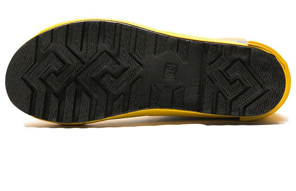 ZXCVBNM Zapatos De Lucha contra El Fuego Botas De Extinci/ón Botas De Combate De Acero De Goma Botas De Fuego De Seguridad Ign/ífugas De Aislamiento Zapatos Antideslizantes A Prueba De Agua