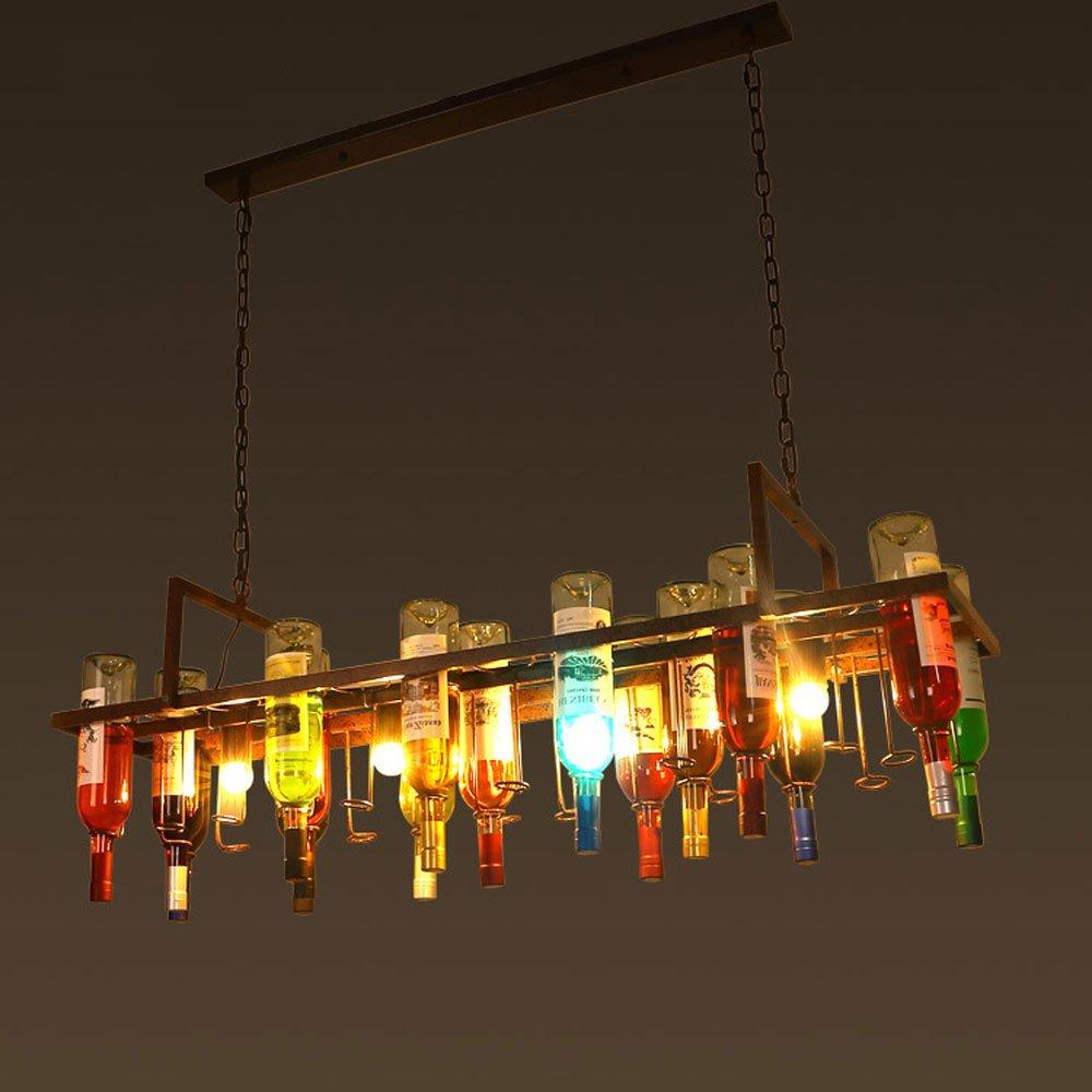 JU FU -Luminaria Lámparas de Botellas de Vidrio - Creativo ...
