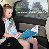 Car Window Sunshade, 2win2buy [ PACKs] Universal Fit Car Side Front Rear Window Sun Shade Protects Your Baby andKids from 98% of Harmful UV Rays Breathable Mesh Cover Heat Shield Car Visor