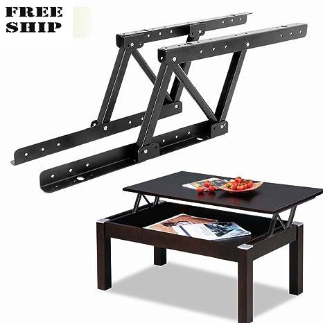 Lift Top Coffee Table Mechanism.Amazon Com 1pair Top Coffee Table Furniture Mechanism Lift Up