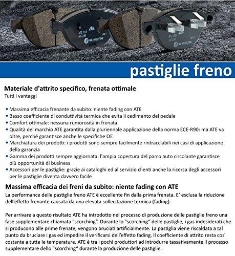 plaquettes de frein avant 13.0460 Disque de frein ventil/é /Ø330/avant 24.0124 ATE Disque de frein ventil/é /Ø330/ 7216.2/ 0200.1