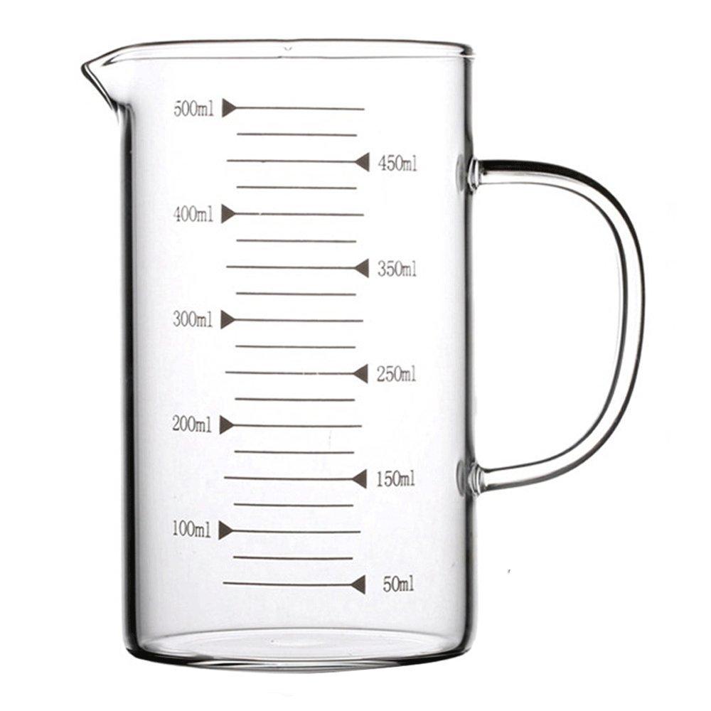 Lautechco High Borosilicate Food Grade Glass Measuring Cup Pot Kettle (350ml) Lautechco® COMINHKPR152494