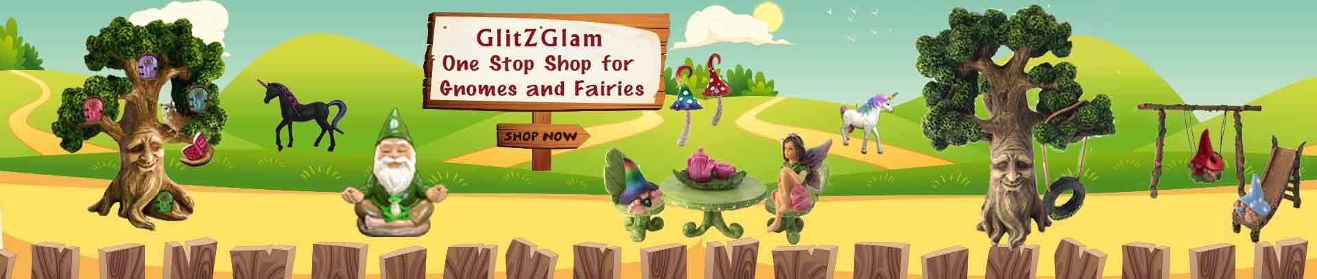 GlitZGlam Miniature Baby Gnomes 4 Pack Collection – The Baby Gnomes for The Fairy Garden That Garden Fairies Love by GlitZGlam (Image #5)