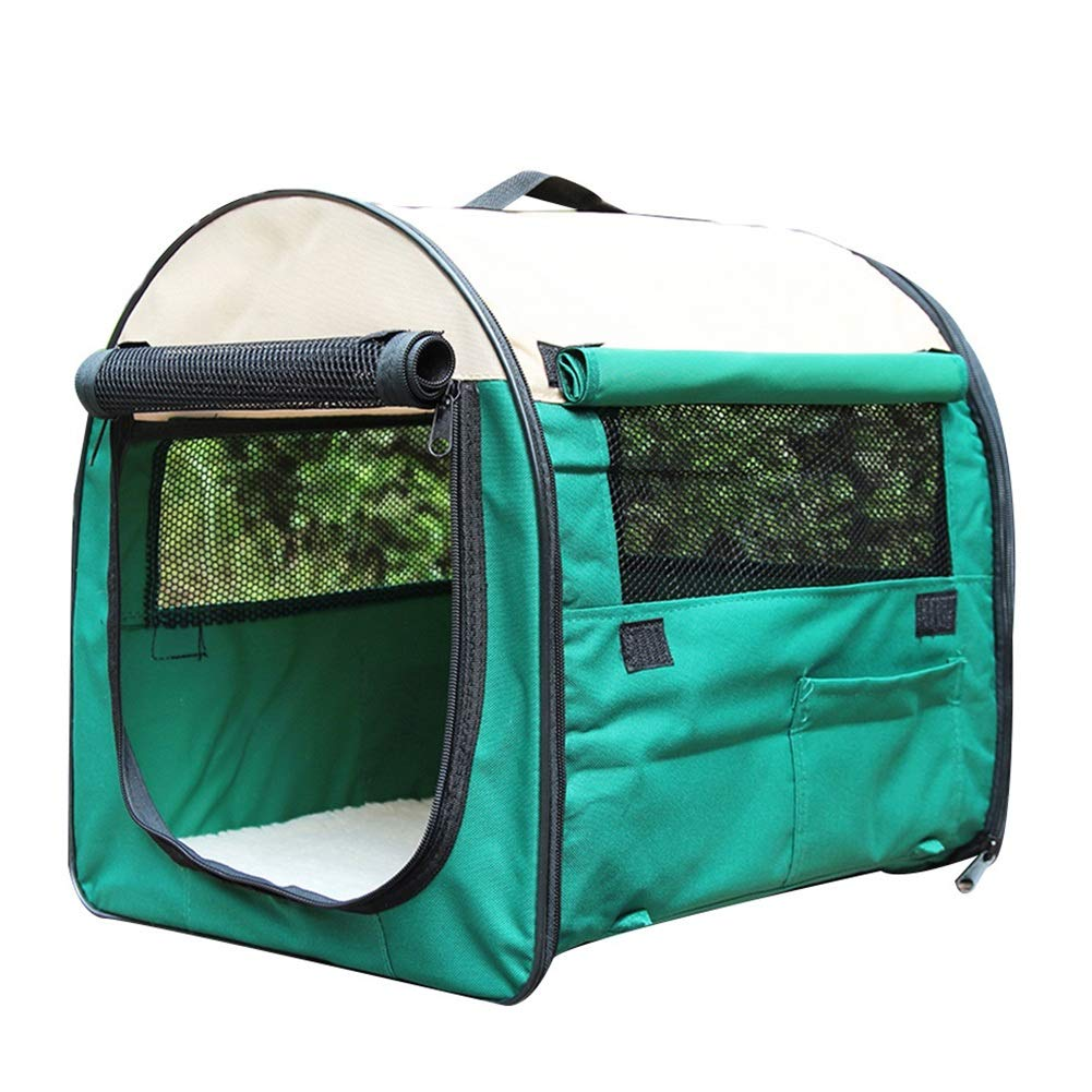 Green Xl Green Xl DQMSB Pet Room Dog Tent Outing Tent Small Medium and Large Dog Pet Kennel pet Bed (color   Green, Size   XL)
