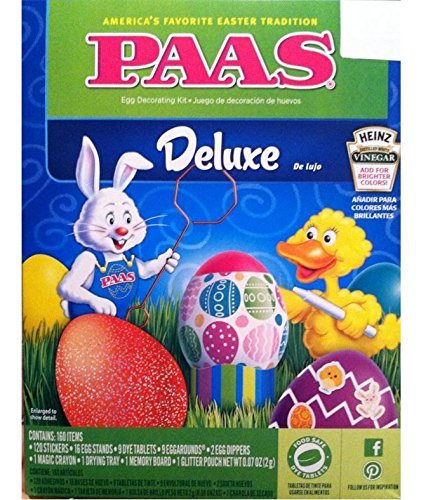 PAAS Deluxe Egg Decorating Kit -