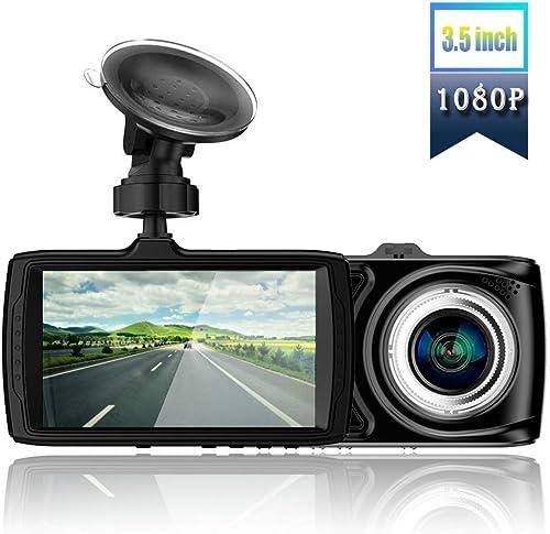 Dash Camera FHD 1080P Car 170 Wide Angle Night Vision Loop Recording Parking Monitor 3.5 inch Car Camera car dvr 170 Wide Angle WDR,