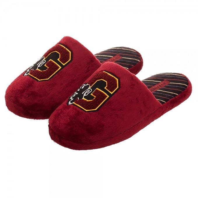 HARRY POTTER Felpa Zapatillas Zapatillas Rojas de la Cresta de Gryffindor: Amazon.es: Ropa y accesorios