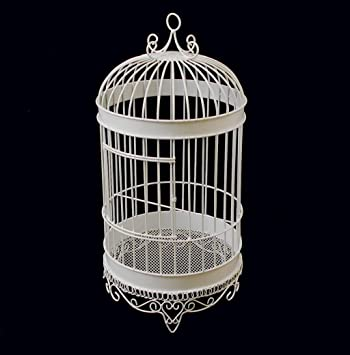 Amazon Firefly Imports Homeford White Metal Wedding Bird Cage