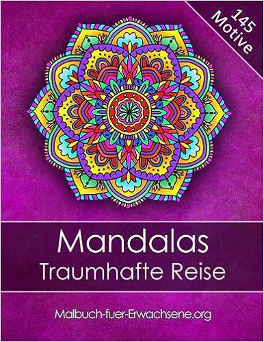 Malbuch Für Erwachsene Mandalas Traumhafte Reise Bonus 60