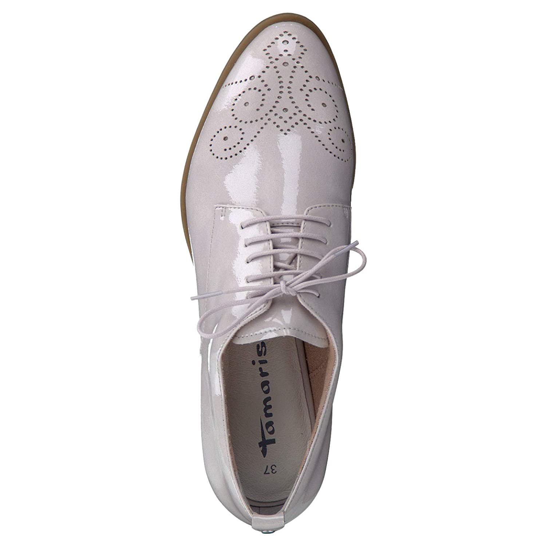 Tamaris Schuhe 1 1 23201 28 Bequeme Damen Schnürer, Schnürschuhe, Halbschuhe, Sommerschuhe für modebewusste Frau,