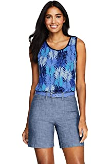 d0d8fb6147ceb8 Lands  End Women s Cotton Tank Top at Amazon Women s Clothing store