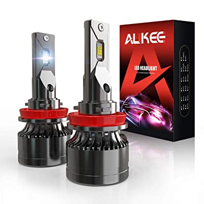 H11 LED Headlight Bulb, Aukee H8 H9 110W High Power 18,000LM Extremely Bright 6000K Cool White CSP Chips Conversion Kit Adjustable Beam: Automotive