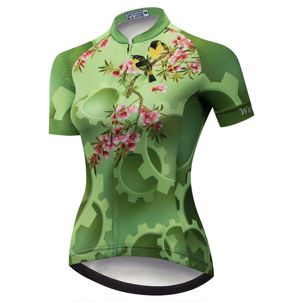 weimomonkey Women's Cycling Jersey Tops Bike Bicycle Clothing MTB Biking Shirts weimostar
