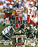 #4: CROUCH RODGERS ROZIER SIGNED NEBRASKA HUSKERS HEISMAN 8x10 PHOTO #L97567 - JSA Certified - Autographed College Photos