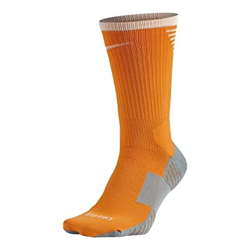 Nike - Calcetines Training NA/BL Hombre Color: Naranja Talla ...