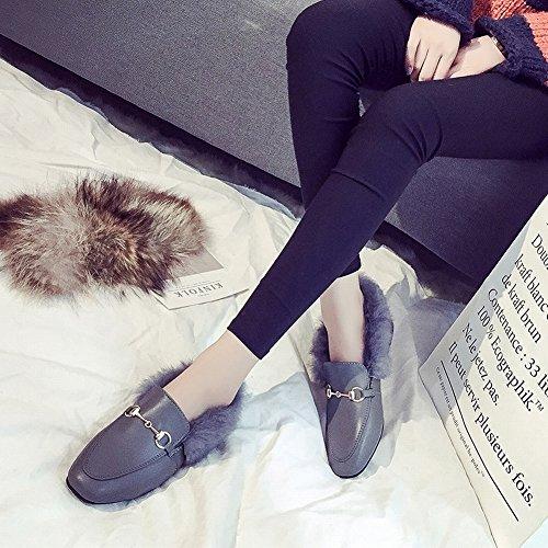 EUR37 Zapatos Moda Mujer de de Todos Los Partidos negro Oq881Pwv