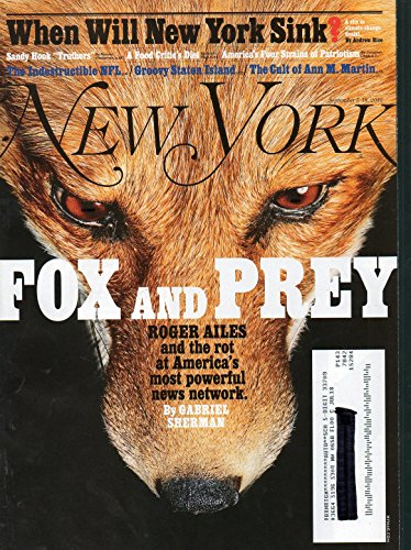 New York Magazine 2016 FOX NEWS & ROGER AILES AND THE WHOLE FILTHY SEX SCANDAL THAT WILL SHOCK YOU ()