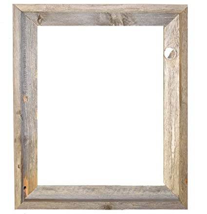 a0c1e165925 16x20 - 2 quot  Wide Signature Reclaimed Rustic Barnwood Open Frame - No  Glass ...