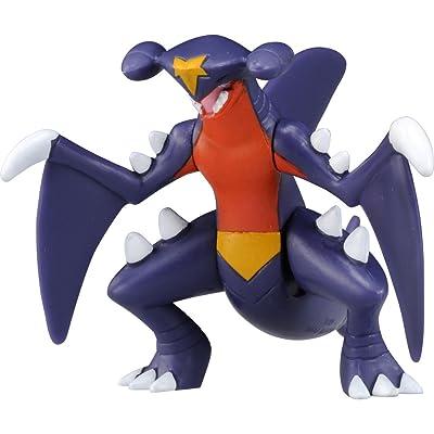 """Takaratomy Pokemon Sun & Moon ESP 18 Garchomp Figure Action Figure, 2.25"""": Toys & Games"""