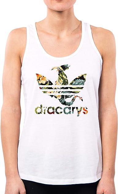 PacDesign Dracarys Flower PD1577A - Camiseta para Mujer, diseño de ...