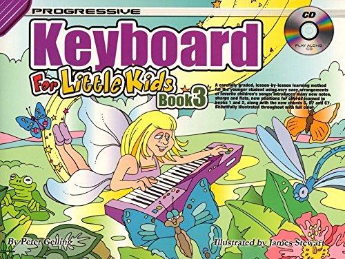 Download CP11883 - Progressive Keyboard for Little Kids Book 3 - Bk/CD pdf