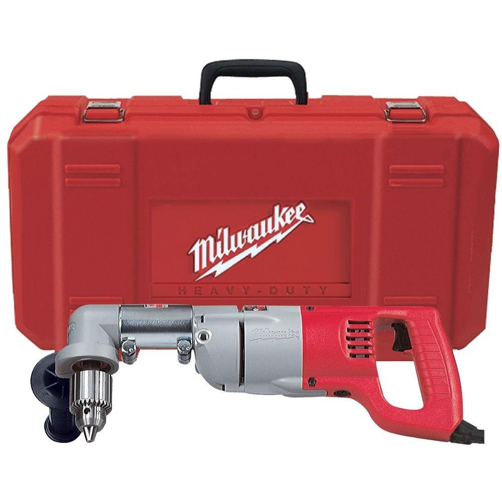 Milwaukee 3107-6 7 AMP Right Angle Drill for 4-5 8 Bits