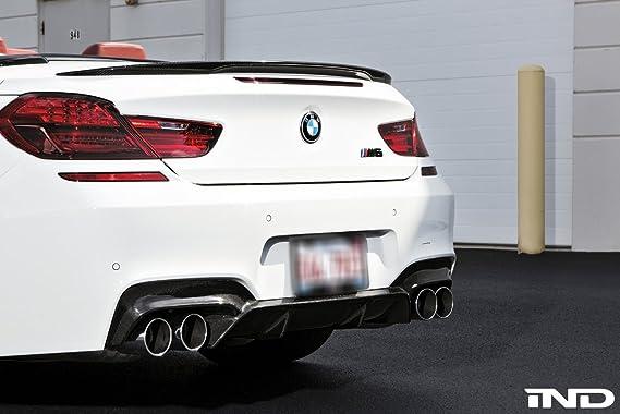 IND Matte Black Painted Trunk Badge For BMW F12//13 M6