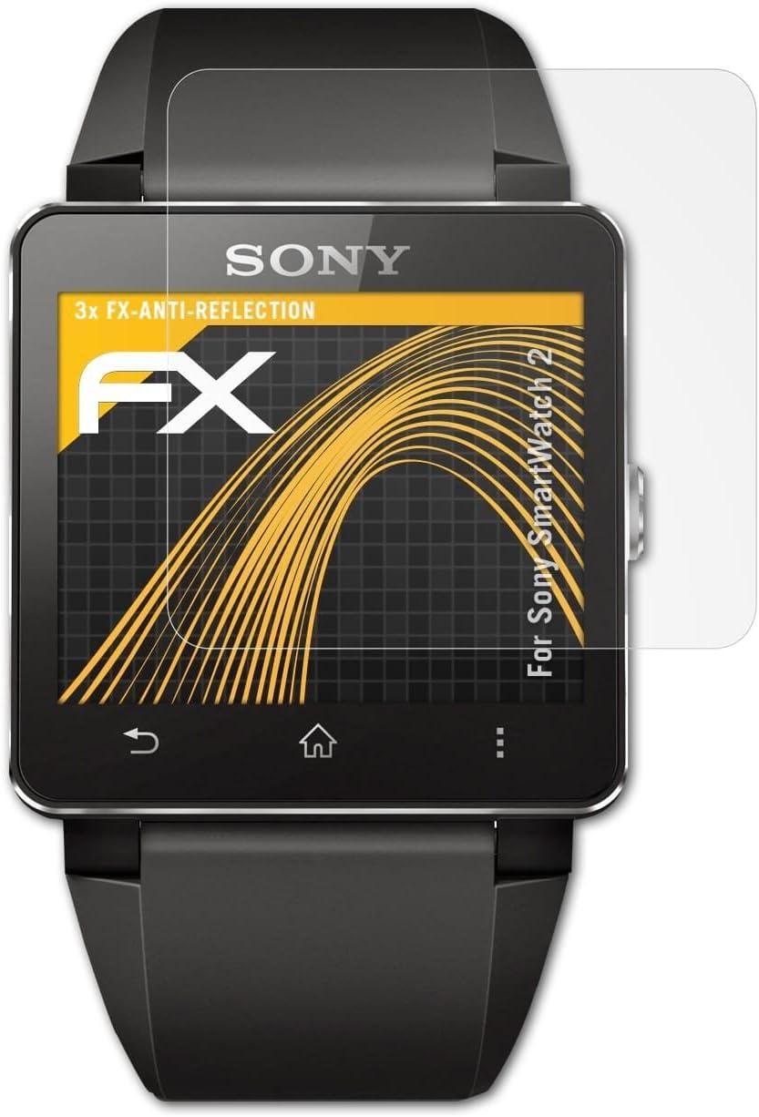 atFoliX Película Protectora Compatible con Sony SmartWatch 2 ...