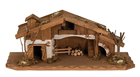 Madera Hogar Belén 33 cm x 13,5 cm Modelo Casa