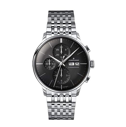 Junghans Meister Chronoscope Reloj de Hombre automático 40.7mm 027/4324.45: Amazon.es: Relojes