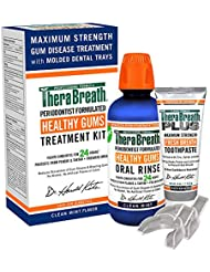 TheraBreath Dentist Formulated PerioTherapy Healthy Gums Treatment Kit