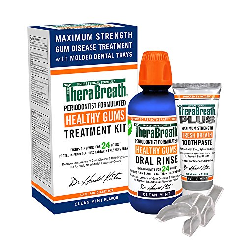 TheraBreath Healthy Gums Treatment Kit (Best Treatment For Gum Recession)