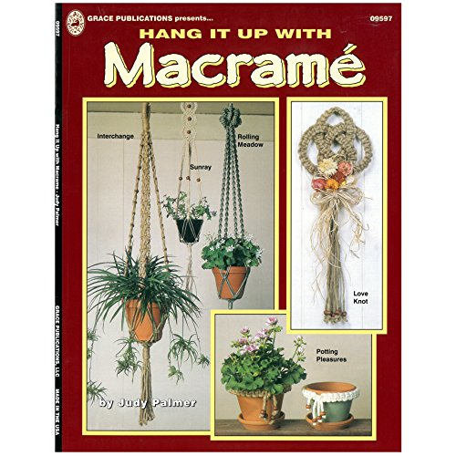 Hang it Up & Have a Seat DIY Crafting Weaving Knotting Macramé Books - 1 and 2 Packs -